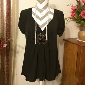 Maurices Sexy Medallion Accent Top